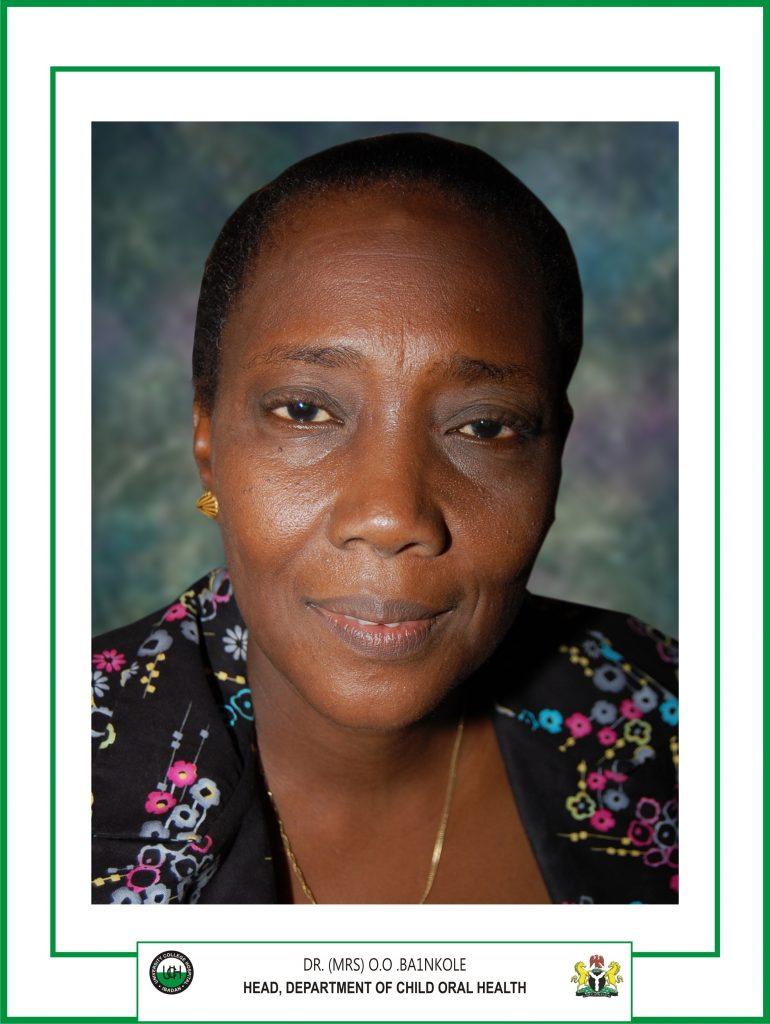 DR. MRS. OLUBUNMI O. BANKOLE