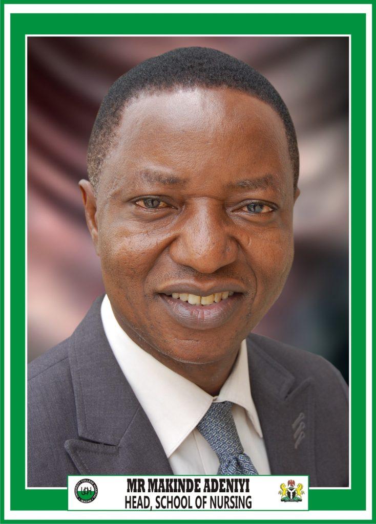 Mr Makinde Adeniyi