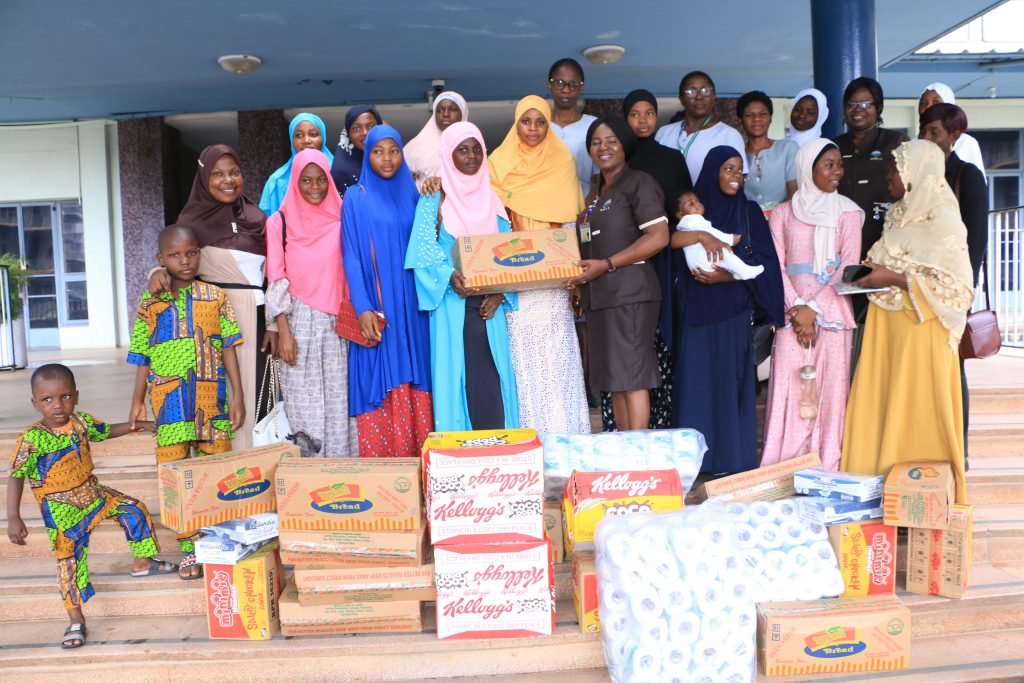 Muslima Care Foundation Make Charity Donation to UCH