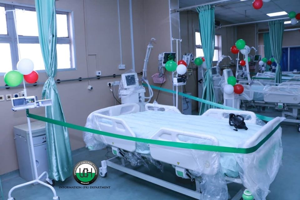 REMARKS BY THE CHIEF MEDICAL DIRECTOR, PROFESSOR JESSE ABIODUN OTEGBAYO AT THE COMMISSIONING OF THE RENOVATED AND RE-EQUIPPED INTENSIVE CARE UNIT ON MONDAY, 16TH DECEMBER, 2019.