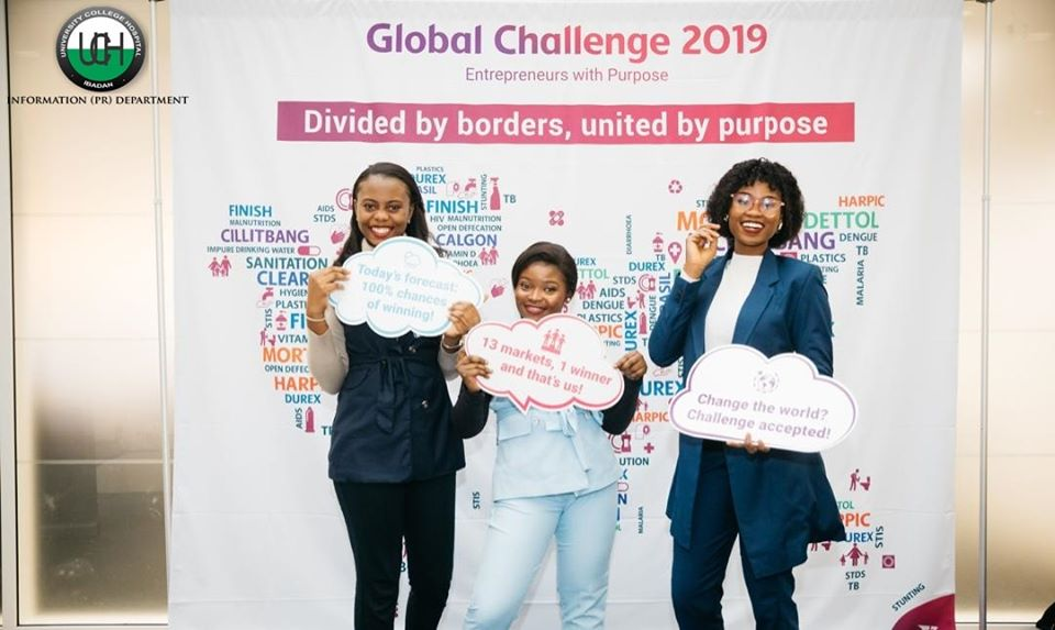 UCH Interns Emerge Global Runners-up at the 2019 RB Challenge.