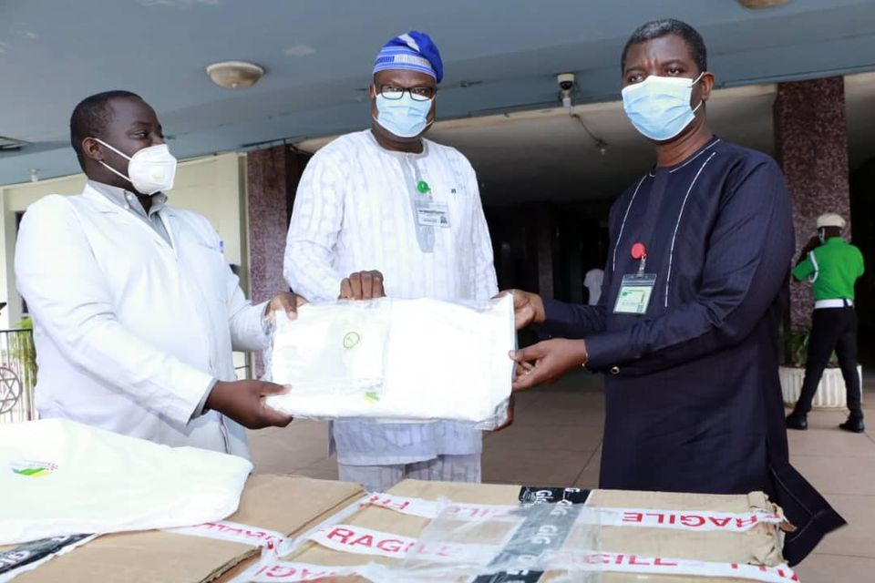 ARD UCH Donates PPEs to the Hospital.