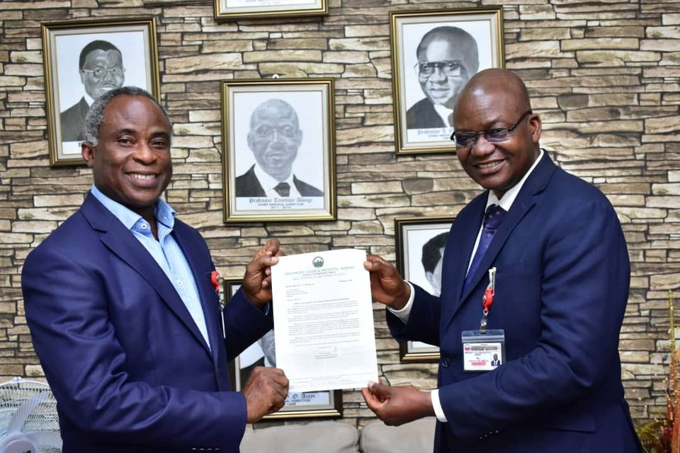 CMAC Designate Abiodun Adeoye receives Letter of Appointment.
