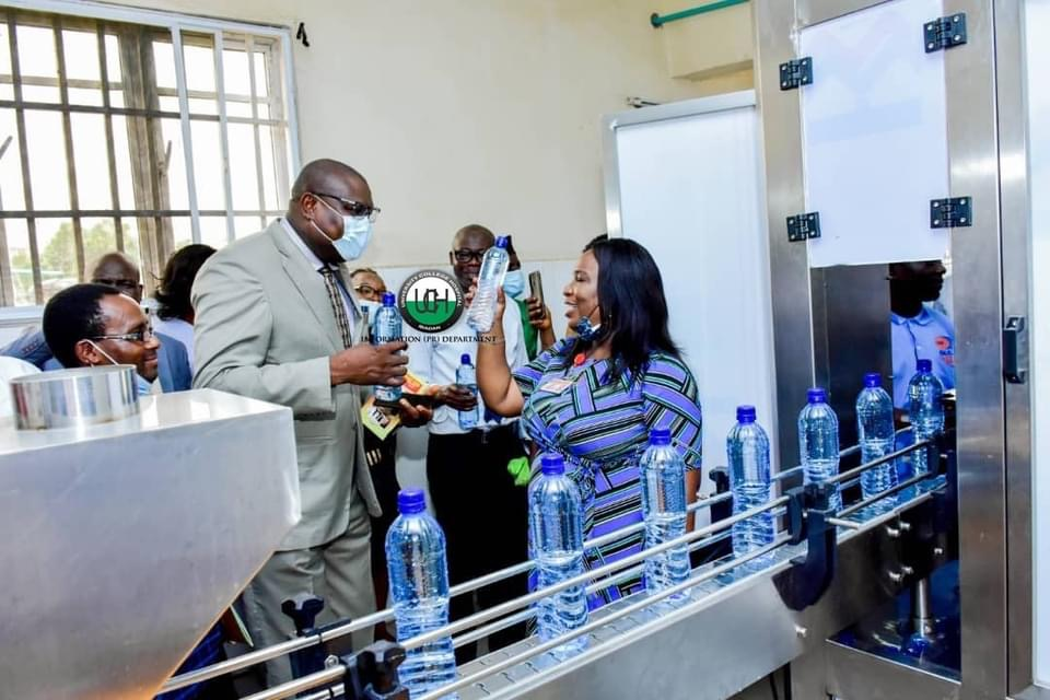 GRACE Cooperative, UCH, launches Premium Drinking Table Water Brand…  Tasked on greater revenue drive.