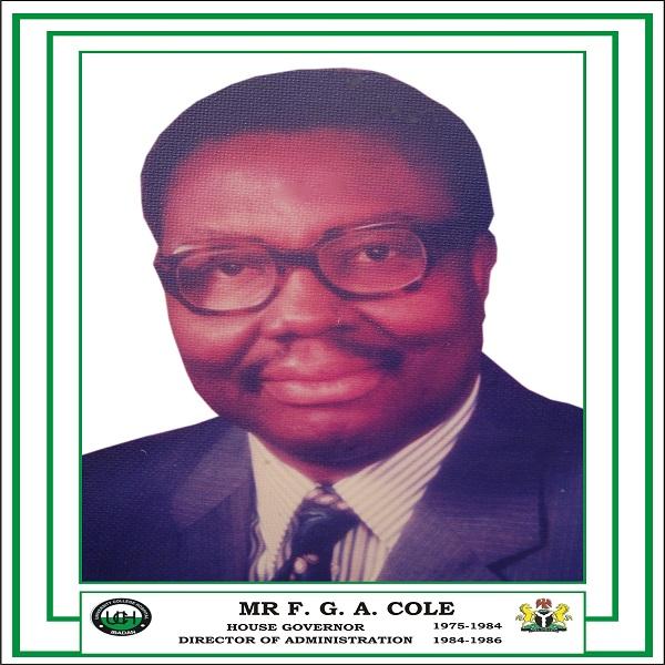 Mr F. G. A. Cole