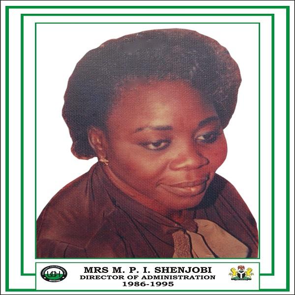 Mrs M. P. I. Shenjobi