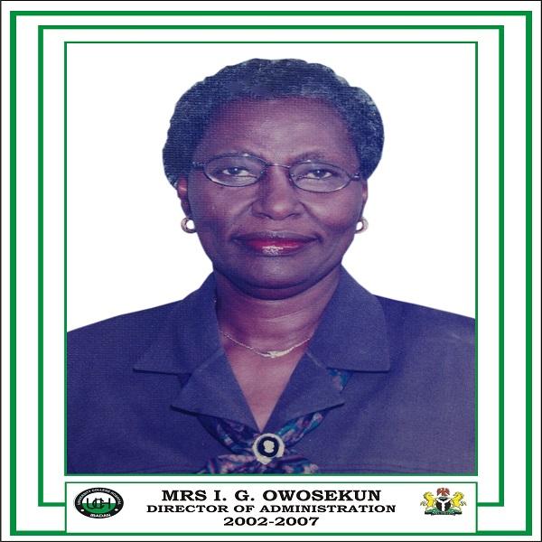 Mrs I. G. Owosekun