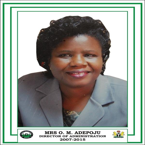 Mrs O. M. Adepoju