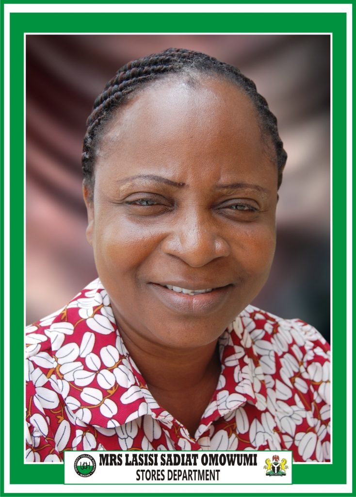 Mrs. Sadiat Omowumi Lasisi