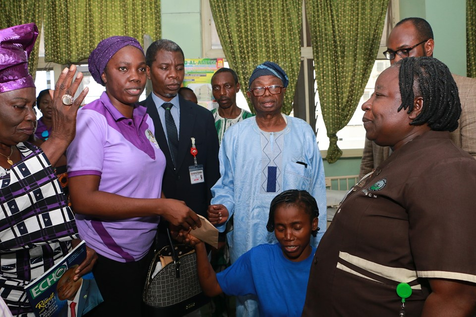 FTAF SUPPORT INDIGENT PATIENTS IN UCH