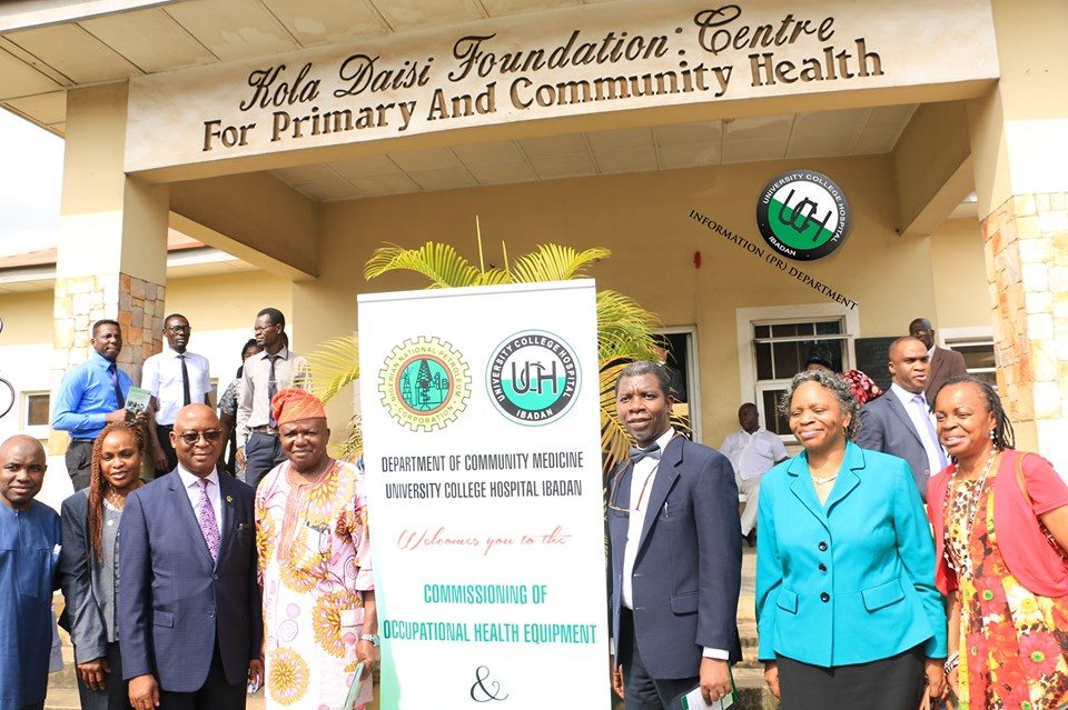 NNPC Donate Occupational Health Equipment to UCH