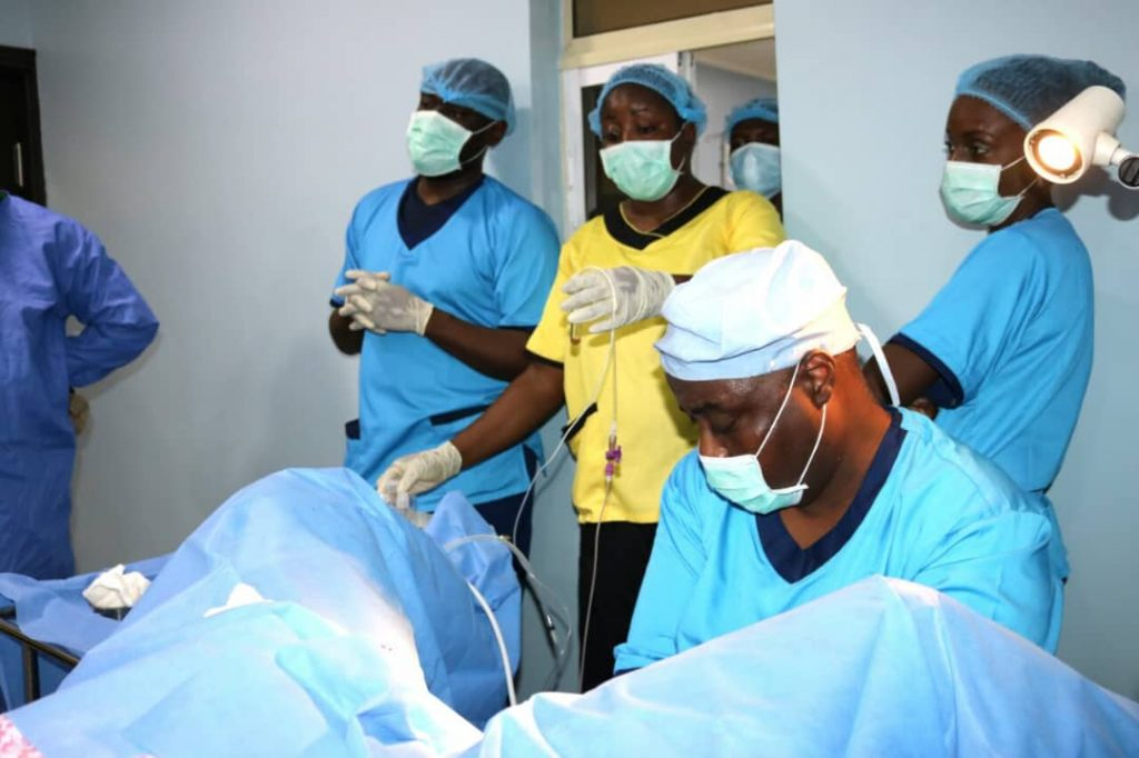 UCH Commences (IVF) Procedure.